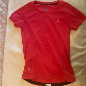 Adidas Pink Athletic Top